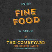 The Court Yard On Sober Lane: The Ace of Cork Restaurants