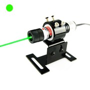 Compact Size 50mW 515nm Forest Green Dot Laser Alignment